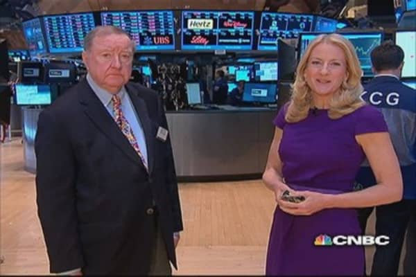 Cashin says markets waiting for earnings to crest