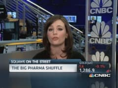 Pharma deal frenzy