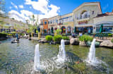 The fountains at The Commons at Calabasas.