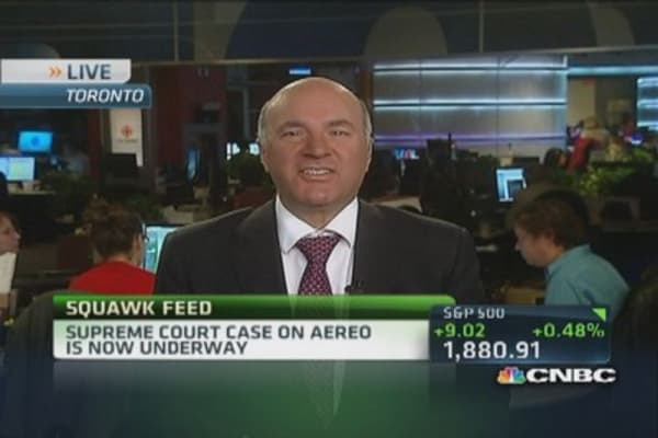 Aereo found loophole in law: O'Leary