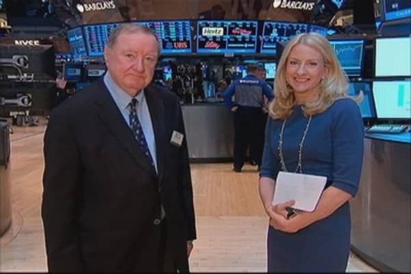 Cashin says: 'Sopped up a little' hot money