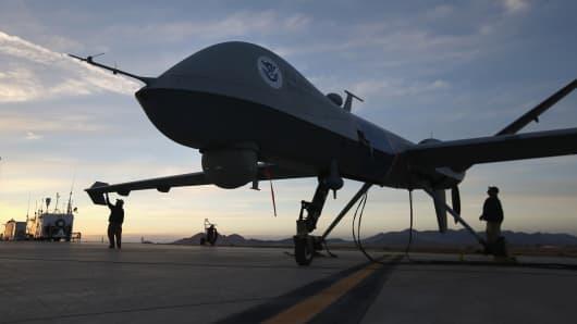 A U.S. Predator drone