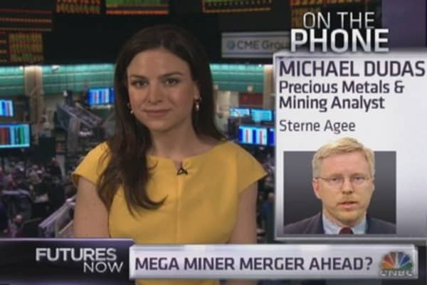 Sterne Agee's Dudas on miners and gold