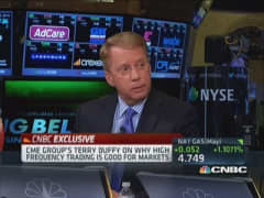 CME Group's Duffy: Market absolutely not 'rigged'
