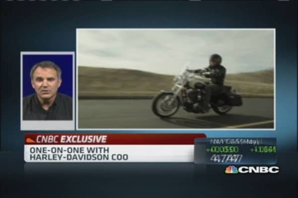 Harley-Davidson COO: Vesting in international growth