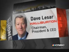 Halliburton CEO: Great, new technology developed in US
