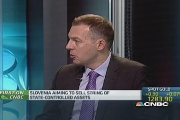 We have 'sufficient' cash: Slovenia Fin Min