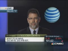 AT&T transforming customer base: CFO
