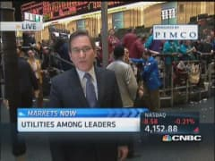 Santelli: 30-year yield pressured