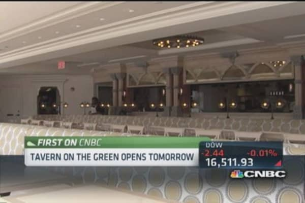 Tavern on the Green gets $20 million makeover