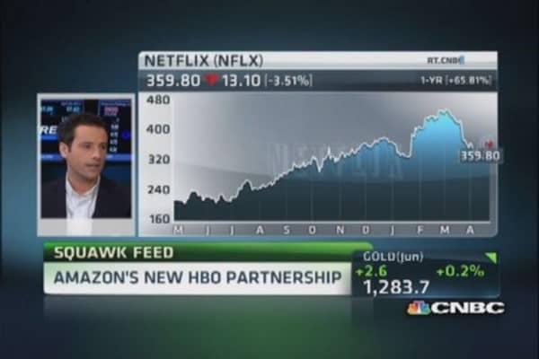 Amazon's partnership with HBO