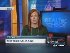March new home sales drop