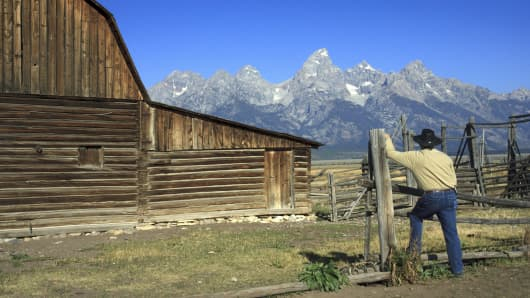 Wyoming's Teton Mountains