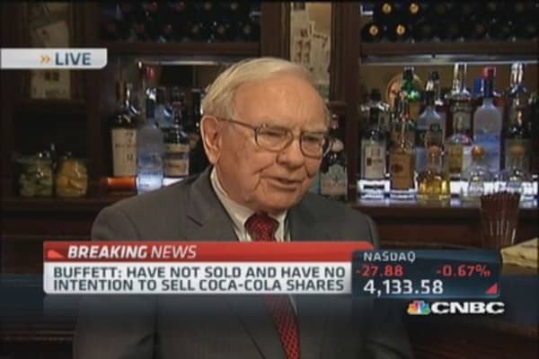 Warren Buffett: Not surprised by IBM