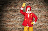 Ronald McDonald's rocks a new look.