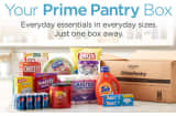 Amazon launches Prime Pantry.