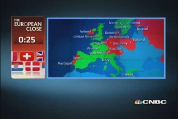 European markets close: 'Oui' to GE?