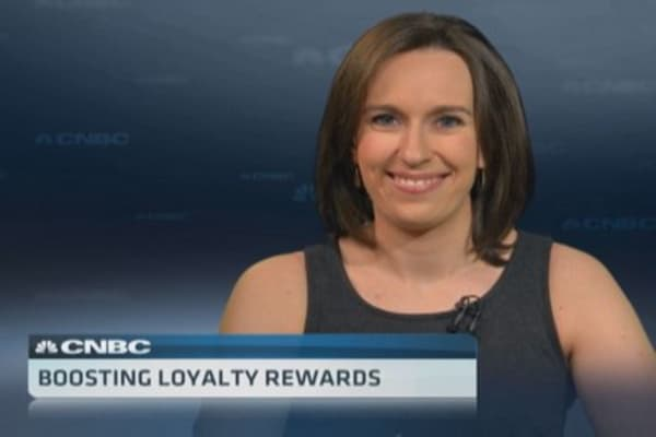 Boosting loyalty rewards
