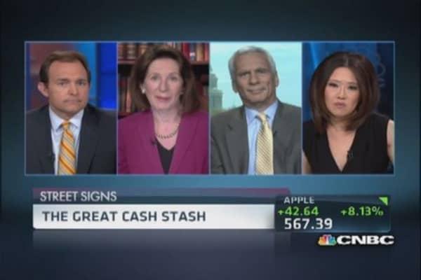 Most cash rich companies