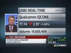 Qualcomm CEO: Globally smartphone technology increasing