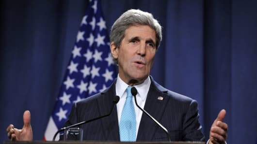 Secretary of State John Kerry.