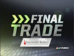 Fast Money Final Trade: AMZN, CHK, EWG, QCOM