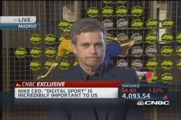 Nike CEO: Expanding reach of Nike Fuel
