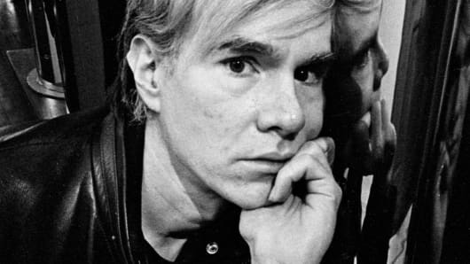 Andy Warhol in 1968.