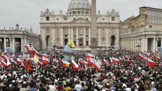 VATICAN POPE FUNERAL