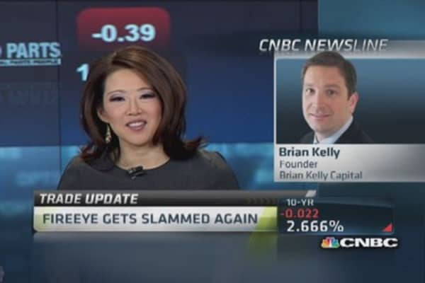 Bad trade at FireEye: Kelly