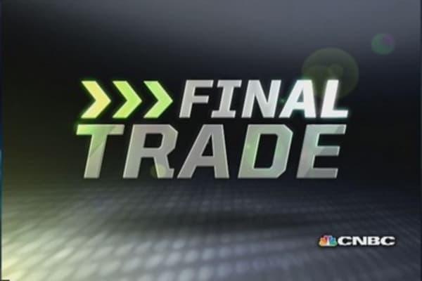 Fast Money Final Trade: DG, BAC, MOO, MYL