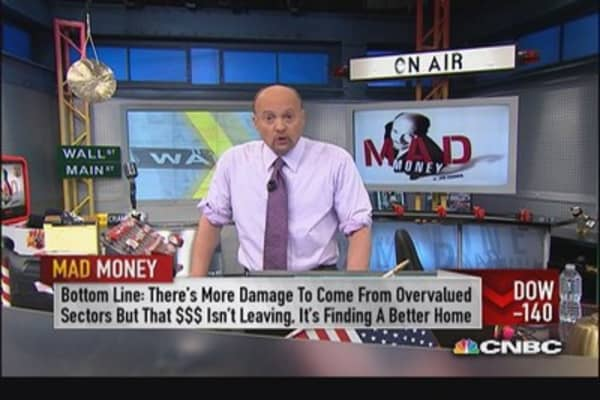Downtrend, out-of-growth into value: Cramer