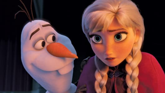 "Still from the movie ""Frozen"""