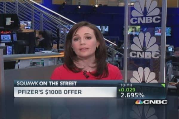 Pfizer pushes for $100 billion AstraZeneca deal