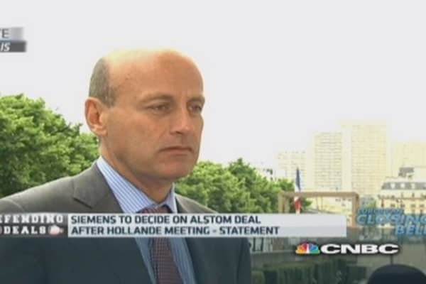 Is GE is 'best fit' for Alstom, not Siemens?