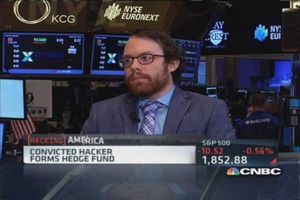 Convicted hacker starts hedge fund