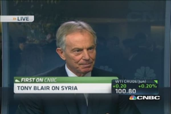 Sanctions on Russia will have impact: Tony Blair