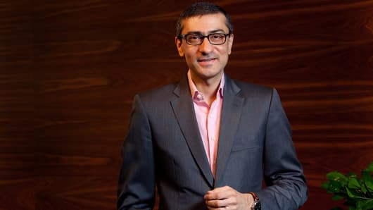 Rajeev Suri, chief executive officer of Nokia.