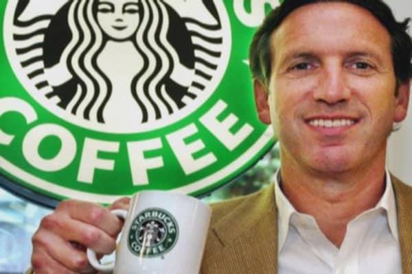 Howard Shultz creates the world's coffee house
