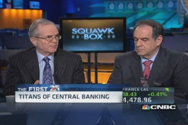 Bernanke and Greenspan make the cut