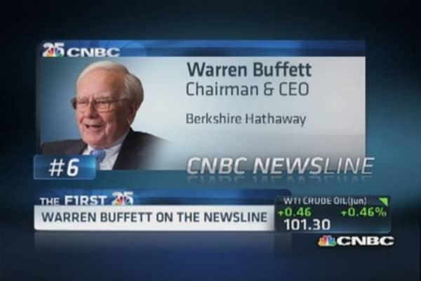 Buffett: Investing for the long haul