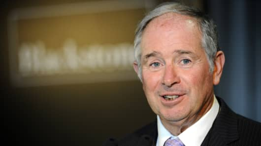 Stephen Schwarzman, chairman and chief executive officer of Blackstone Group LP.