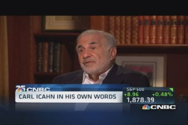 Carl Icahn: Savior of the economy?