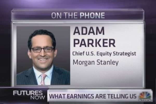 Morgan Stanley's Parker disses 'Sell in May'