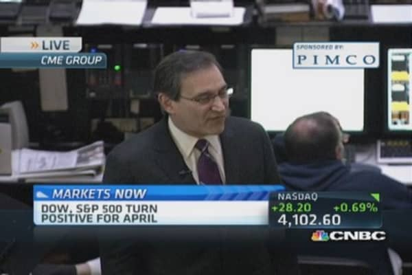 Santelli: Watching Apple outcome