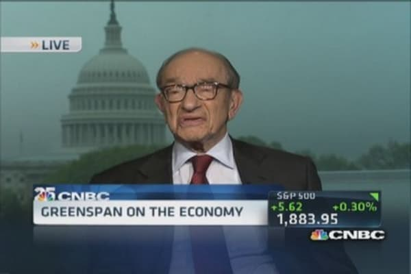 Greenspan's biggest regret