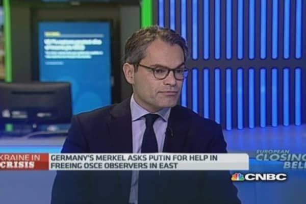 Ukraine: Europe needs to 'stop and think'