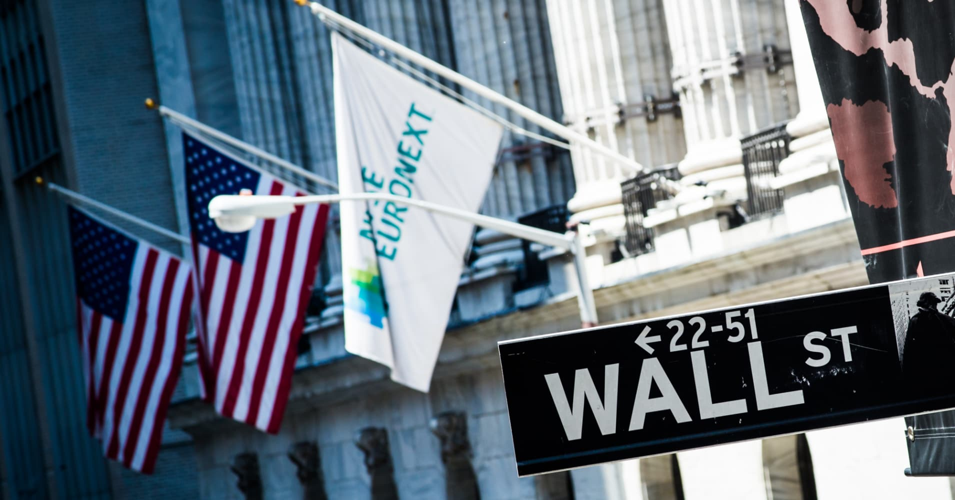want that year end bonus this wall street commentary nyse euronext flag hangs outside the nyse