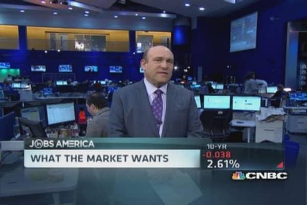 Key data sets up well for jobs: Liesman