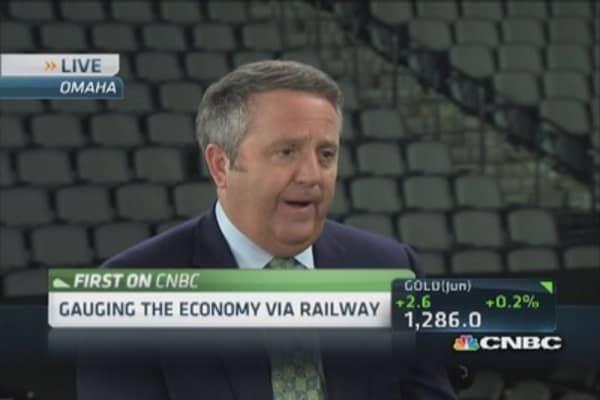 Energy revolution fueling economy: BNSF